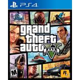 Grand Theft Auto 5 Gta 5 V Ps4 Original + Garantía + Español