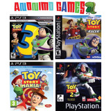 Toy Story 3 + 2 + Mania + Racer Colección Playstation 3