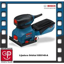 Lijadora Orbital 180w Gss140a Bosch