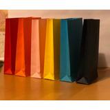 Bolsas Papel Colores Ideal Sorpresitas Regalo Etc