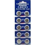 Pila Bateria Alkalina Ag13 Lr44 A76 357 10 Unidades Relojes®