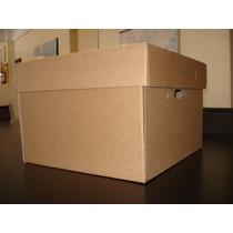 Caja Archivo De Documentos 40 X 37 X 26,6 Cm