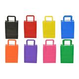 Bolsas Papel Colores Ideal Cumpleaños Regalo Souvenir 14x20