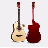 Guitarra Clasica Acustica Con Funda De Regalo