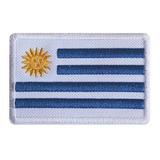 Bordado Parche Bandera De Uruguay