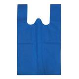 Bolsa De Tnt Tipo Camiseta 45 X 55 Cm Varios Colores