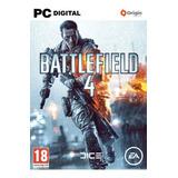 Battlefield 4 Pc + Original Online Clave Origin