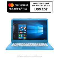 Notebook Hp Stream 14' Dual Core 32gb 4gb Ram Bt Win10 Loi