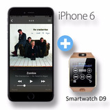 Iphone 6 128gb 4g Lte + Smartwatch Bt D9 12 Pagos