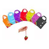Bolsa Reutilizable Mandados En Forma De Frutilla 56x36cm