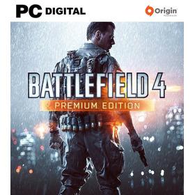 Battlefield 4 Pc Premium + Original Online Clave Origin