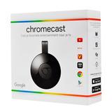 Google Chromecast 2 Smart Tv Netflix Y+ Gtia 1 Año Febo