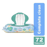 Toallitas Pampers Comp Clear 72
