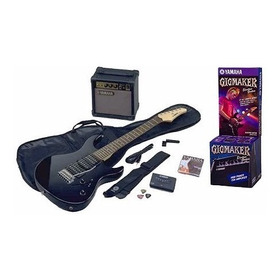 Guitarra Electrica Pack Yamaha Erg121 Black