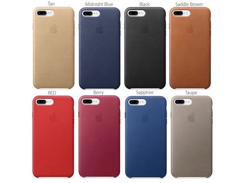 4d1f7d3eec8 Protector Fino Simil Cuero iPhone 8 7 6s 6 Se 5s 5 Y Plus