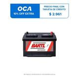 Bateria Bartl 115 Amper Garantía 12 Meses