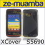 Protector Funda Tpu Galaxy Xcover S5690 + Film Colocado