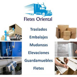 Fletes,mudanzas,traslados,elevaciones,embalajes, 093766489