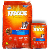 Comida Perro Adulto Max Selection 20 + 2 Kg + Envío Gratis