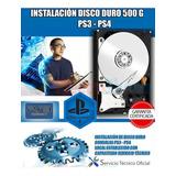 Disco Duro 500 Gigas Ya Instalado !! En Consolas Ps3 Y Ps4