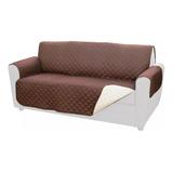 Funda Cobertor Protectora Reversible Para Sofa 3 Cuerpos