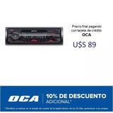 Radio Auto Sony Dsx-a410bt Usb Am Fm Bluetooth #oca