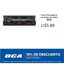 Radio Auto Sony Dsx-a410bt Usb Am Fm Bluetooth #oca