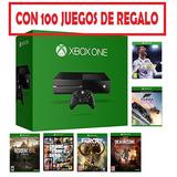 Xbox One Con 100 Juegos De Regalo Original  Nuevas