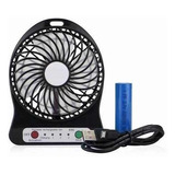 Ventilador Mini Usb - Portatil - Bateria Recargable