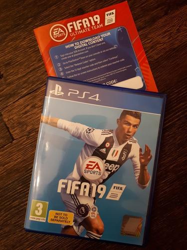 Juego Fifa 2019 Sin Uso Ps4