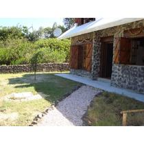 Casa De Piedra En La Naturaleza De Guazuvira Playa