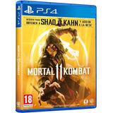 Juego Ps4 Físico Mortal Kombat 11 Nuevo Español En Stock