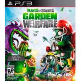 Plants Vs Zombies Garden Warfare Ps3 Original + Español