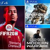 Promo 3x2 Ps4 Fifa 20 Breakpoint Cod Modern Warfare Nfs Heat