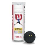 Bolas De Squash Wilson Staff (paquete De 3)
