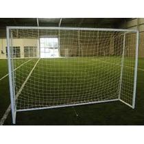 Red De Futbol 5 Deportiva. Cuerda 2,3mm Con Cajón De 1 Metro