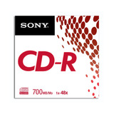 Sony Cd-r Grabable Cdq80ss/x - Mosca