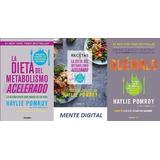 La Dieta Del Metabolismo Acelerado+recetas+quemalo. 3 Libros