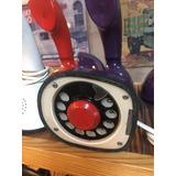 Teléfono Antiguo Modelo Cobra De Ericsson Disco