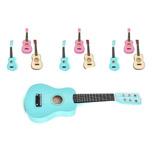 Guitarra Azul Infantil Tamaño Niños Aprender C El Tamaño Ok