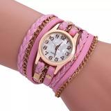 Reloj Dama Mujer Cuero Moda Brazalete Fashion Super Moderno®