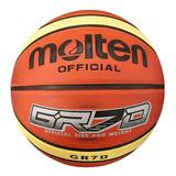 Pelota Basket Molten Gr7 Goma Nº7 Original Basquetbol El Rey