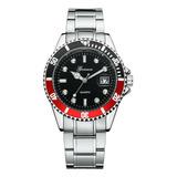 Reloj  Deerfun Estilo Submariner Con Calendario En Stock