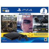 Sony - Consola Play Station Ps4 Hits Bundle 5 Mfshop