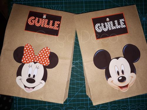 26dc4cb61 Bolsitas Sorpresitas Para Cumpleaños Mickey Mouse - $ 20 en Melinterest