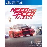 Need For Speed Payback Standard Juego Digital Ps4 2019