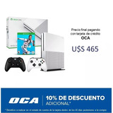 Xbox One S 500gb Ref + Fifa 19 + 2 Joysticks