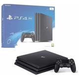 Consola Playstation 4 Pro 1tb Negra Mfshop