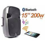 Caja Activa Lexsen Spa156ub 15  200w Rms Bluetooth
