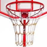 Red Cadena Metálica Cromada P/ Aros Basquetbol Basket El Rey
